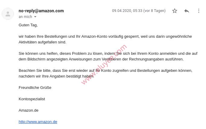 德国亚马逊发现异常活动阻止了订单