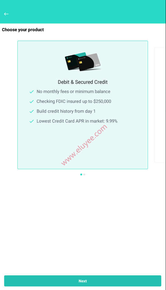 Sible借记卡与押金信用卡
