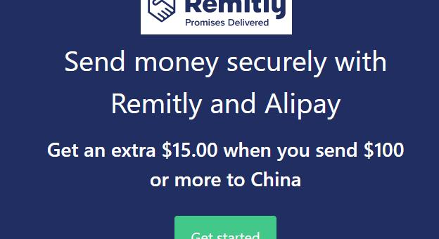 第一笔汇款15美元奖励