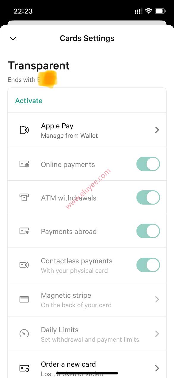 N26绑定Apple Pay或Google Pay支付