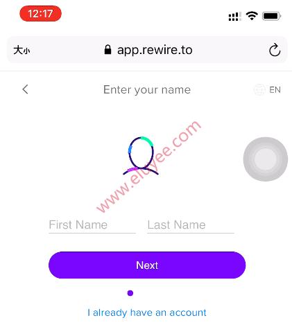 Rewire注册