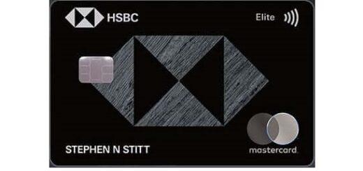 Hsbc汇丰美国Elite信用卡黑狮子